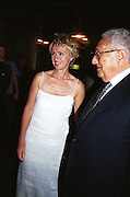 Tina Brown and Henry Kissinger.<br />