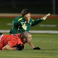 10.29.2014 Elyria Catholic vs Mansfield Christian Boys Varsity Soccer