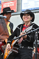 The California Rodeo Band rocks the house during Friday night's events at the 2013 California Rodeo Salinas.