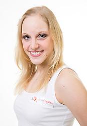 Jana Koradej na izboru za Miss Sporta Slovenije 2014, on February 11, 2014 in Ljubljana, Slovenia. Photo by Vid Ponikvar / Sportida