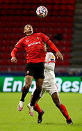Dalbert Henrique of Stade Rennais during the UEFA Champions League, Group E football match between Stade Rennais and Sevilla FC (FC Seville) on December 8, 2020 at Roazhon Park in Rennes, France - Photo Jean Catuffe / ProSportsImages / DPPI