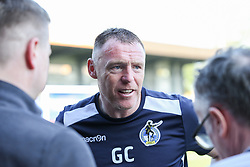Bristol Rovers manager Graham Coughlan speaks to the media after the match - Mandatory by-line: Arron Gent/JMP - 19/04/2019 - FOOTBALL - Cherry Red Records Stadium - Kingston upon Thames, England - AFC Wimbledon v Bristol Rovers - Sky Bet League One