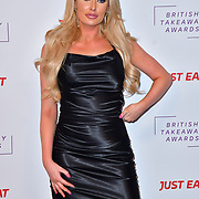 Chloe Crowhurst attend the British Takeaway Awards 2020 on 27th January 2020, Savoy Hotel, Strand, London, UK.