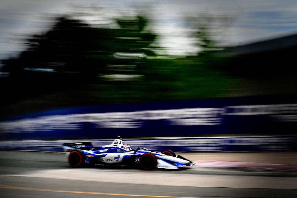 Charlie Kimball, Carlin Chevrolet<br /> Friday 13 July 2018<br /> Honda Indy Toronto<br /> Verizon IndyCar Series<br /> Streets of Toronto ON CAN<br /> World Copyright: Scott R LePage