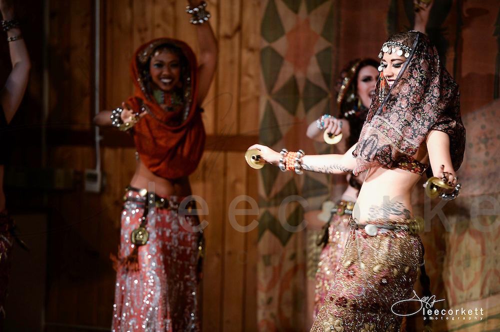 A dance performance at Tribal Fest 2014, in Sebastopol, California