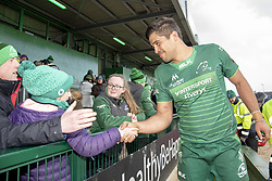 March 2, 2019 - Galway, Ireland - Jarrad Butler of Connacht thanks his fans during the Guinness PRO 14 match  between Connacht Rugby and Ospreys at the Sportsground in Galway, Ireland on March 2, 2019  (Credit Image: © Andrew Surma/NurPhoto via ZUMA Press)