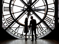 March 18, 2017 - Paris, France - WILLIAM Duke of Cambridge and CATHERINE Duchess of Cambridge take a tour of the Musee d'Orsay, on day two of their visit to the French capital. (Credit Image: © Pool/i-Images via ZUMA Press)