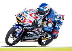 October 22, 2016 - Melbourne, Victoria, Australia - French rider Jules Danilo (#95) of Ongetta-Rivacold in action during the 3rd Moto3 Free Practice session at the 2016 Australian MotoGP held at Phillip Island, Australia. (Credit Image: © Theo Karanikos via ZUMA Wire)