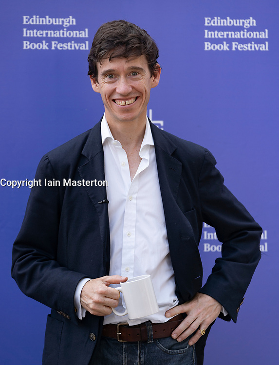 Edinburgh, Scotland, UK. 26 August 2019. Rory Stewart the Conservative MP at the festival. Iain Masterton/Alamy Live News.