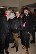 NOSE GAY, HANNAH HANDBOOK, PRINCESS JULIA, Miss Sue Webster hosts the launch of her book <br /> 'I Was a Teenage Banshee' The Mole House , Dalston. 17 October 2019