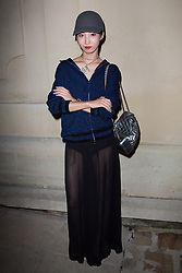 Nozomi Iijima arriving the Chanel 'Code Coco' Watch Launch Party as part of the Paris Fashion Week Womenswear Spring/Summer 2018 on October 3, 2017 in Paris, France, October 03 2017. Photo by Nasser Berzane/ABACAPRESS.COM