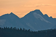 Coast Mountains. South Klondike Highway<br />