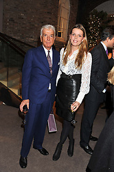 NICKY HASLAM and ELEANOR CHAPMAN at a party to celebrate the launch of Carol Woolton's book 'Drawing Jewels For Fashion' held at Asprey, 167 New Bond Street, London W1 on 10th November 2011.
