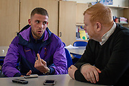 Toby Alderweireld portrait shoot at Tottenham Hotspur at Tottenham Training Centre, Enfield, United Kingdom on 27 February 2020. Picture by Ian Stephen.