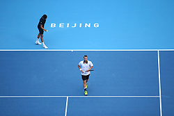 October 8, 2018 - Beijin, Beijin, China - Beijing, CHINA-Professional tennis players Lukasz Kubot and Marcelo Melo defeat Oliver Marach and Mate Pavic 2-0 at China Open 2018 in Beijing, October 7th, 2018. (Credit Image: © SIPA Asia via ZUMA Wire)