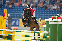 Wathelet Gregory, (BEL), Conrad de Hus<br /> Team completion and 2nd individual qualifier<br /> FEI European Championships - Aachen 2015<br /> © Hippo Foto - Dirk Caremans<br /> 20/08/15