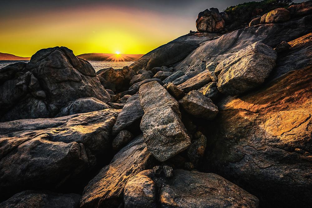 Hellfire Bay in Cape La Grand National Park.