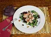 Ahi Tuna Salad, Winterlake Lodge, Finger Lake, Alaska.