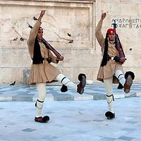 Evzones Guards - Athens - Greece