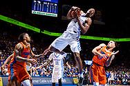 Bam Adebayo.<br /> <br /> The University of Kentucky men's basketball team beat Florida 76-66 on Saturday, February 25, 2017, in Lexington's Rupp Arena.<br /> <br /> Photo by Elliott Hess   UK Athletics