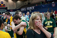 San Marin High School won the North Coast Section Division III Boys Basketball Championship at St. Mary's College against El Cerrito High School. The Mustangs defeated the Gauchos 47-44 on March 5, 2011 in McKeon Pavilion.