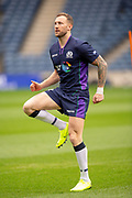 Byron McGuigan (#23) of Scotland during the Captain's training run for Scotland at BT Murrayfield, Edinburgh, Scotland on 8 March 2019 ahead of the Guinness 6 Nations match against Wales.