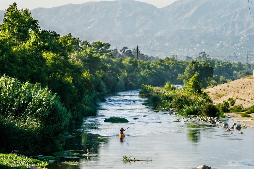 2008 Los Angeles River expedition that helped change the designation to a Navigable river by the EPA.