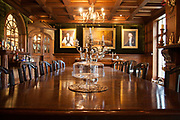 The dining room at Ashbourne Manor in Widford, Herefordshire, UK. A property that buying agent Harriet Brownell has been showing to clients. CREDIT: Vanessa Berberian for The Wall Street Journal BUYAGENT-Brownell