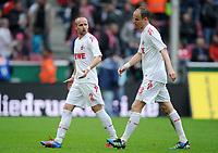 Fotball<br /> Tyskland<br /> 05.05.2012<br /> Foto: Witters/Digitalsport<br /> NORWAY ONLY<br /> <br /> v.l. Miso Brecko, Kevin McKenna (Koeln) <br /> <br /> Bundesliga, 1. FC Köln - FC Bayern München