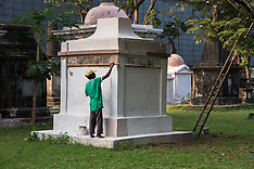 Park Street Cemetery, Kolkata, Inida