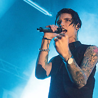 Andy Biersack performing solo as Andy Black live  on the Homecoming Tour at The O2 Ritz, Manchester, 16 May 2016