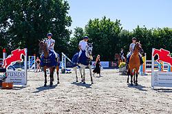 06, Springprfg. Kl. M** -Fundis-Tour-,, Ehlersdorf, Reitanlage Jörg Naeve, 15. - 18.07.2021, Laura Jane Hackbarth (GER), Carisma 109,