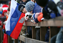 Fan of Slovenia at e.on Ruhrgas FIS World Cup Ski Jumping on K215 ski flying hill, on March 14, 2008 in Planica, Slovenia . (Photo by Vid Ponikvar / Sportal Images)./ Sportida)