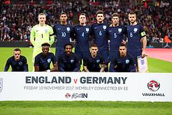 November 10, 2017 - London, England, United Kingdom - England Team shoot..during International Friendly match between England  and Germany  at Wembley stadium, London  on 10 Nov  , 2017  (Credit Image: © Kieran Galvin/NurPhoto via ZUMA Press)