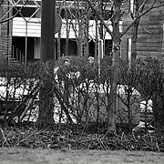 NLD/Mijdrecht/19921204 - Arrestatie bankovervallers schietpartij motel Vinkeveen, dode politieman