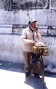 2000 August- Havana, Cuba- ' A Man and his Camera'  in Old Havana, Cuba