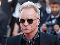 Singer Sting at the Award Ceremony and The Man Who Killed Don Quixote at the The Man Who Killed Don Quixote gala screening at the 71st Cannes Film Festival, Saturday 19th May 2018, Cannes, France. Photo credit: Doreen Kennedy