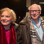 NLD/Amsterdam/20140307 - Boekenbal 2014, Geert Mak en partner ......