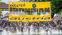 29.06.2013, Klagenfurt, AUT, 15. IRONMAN Austria, im Bild der Start der Profis des IRONMAN Austria// during the 15 th IRONMAN Austria, Klagenfurt, Austria on 2013/05/29. EXPA Pictures © 2013, PhotoCredit: EXPA/ Sebastian Pucher