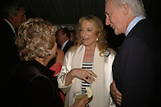 PRINCESS MICHAEL OF KENT AND GALEN WESTON, Cartier dinner in the Chelsea Physic Garden. 22 May 2006. ONE TIME USE ONLY - DO NOT ARCHIVE  © Copyright Photograph by Dafydd Jones 66 Stockwell Park Rd. London SW9 0DA Tel 020 7733 0108 www.dafjones.com