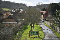 © Licensed to London News Pictures. 11/02/2020. Little Missenden, UK. The picturesque town of Little Missenden in Buckinghamshire which will be directly affected by government plans to push ahead with the HS2 (High Speed 2) railway. Photo credit: Ben Cawthra/LNP