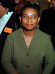 MRS DOREEN LAWRENCE civil rights campaigner, at a luncheon in London on 11th October 1999.MXJ 35