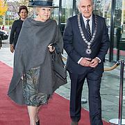 NLD/Hilversum/20181212 - Beatrix onthult nieuwe naam van Sensoor, Prinses Beatrix en Burgemeester  Broertjes