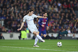 March 14, 2018 - Barcelona, Spain - ANDREAS CHRISTENSEN of Chelsea FC during the UEFA Champions League, round of 16, 2nd leg football match between FC Barcelona and Chelsea FC on March 14, 2018 at Camp Nou stadium in Barcelona, Spain (Credit Image: © Manuel Blondeau via ZUMA Wire)