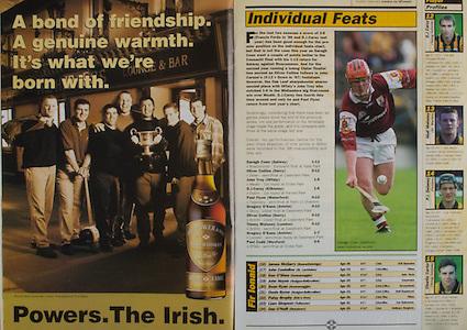 All Ireland Senior Hurling Championship - Final, .13.09.1998, 09.13.1998, 13th September 1998, .13091998AISHCF,.Senior Kilkenny v Offaly, .Minor Kilkenny v Cork,.Offaly 2-16, Kilkenny 1-13,.Powers Irish Whiskey,