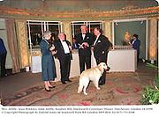 Mrs. Joliffe, Alan Watkins, John Joliffe, Stephen Hill, Duckworth Centenary Dinner. Dorchester, London 14/10/98<br /> © Copyright Photograph by Dafydd Jones<br /> 66 Stockwell Park Rd. London SW9 0DA<br /> Tel 0171 733 0108