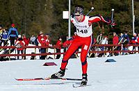 NM Jr. Nordiske grener, Granåsen, Trondheim 04.03.04, Thomas Moen, Sør-Fron IL<br /><br />Foto: Carl-Erik Eriksson, Digitalsport