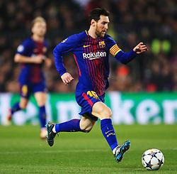 Lionel Messi of Barcelona - Mandatory by-line: Matt McNulty/JMP - 14/03/2018 - FOOTBALL - Camp Nou - Barcelona, Catalonia - Barcelona v Chelsea - UEFA Champions League - Round of 16 Second Leg