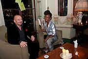 DAVID ROSE; SAFFRON ROSE, Svletlana and Jawek's Asylum seekers arranged marriage valentines party. Home House. 12 February 2010