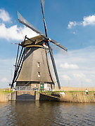 kinderdijk Windmill, The Netherlands.
